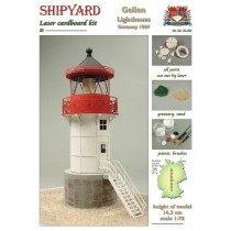Gellen Lighthouse Laser Cardboard Kit (Shipyard 1:72)