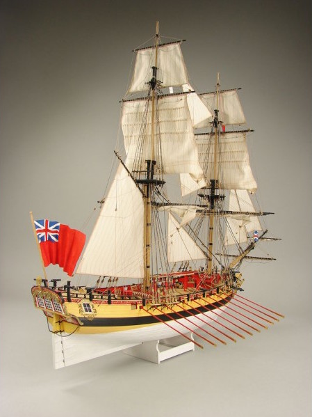HMS Wolf, Laser Cardboard Kit, ZL029